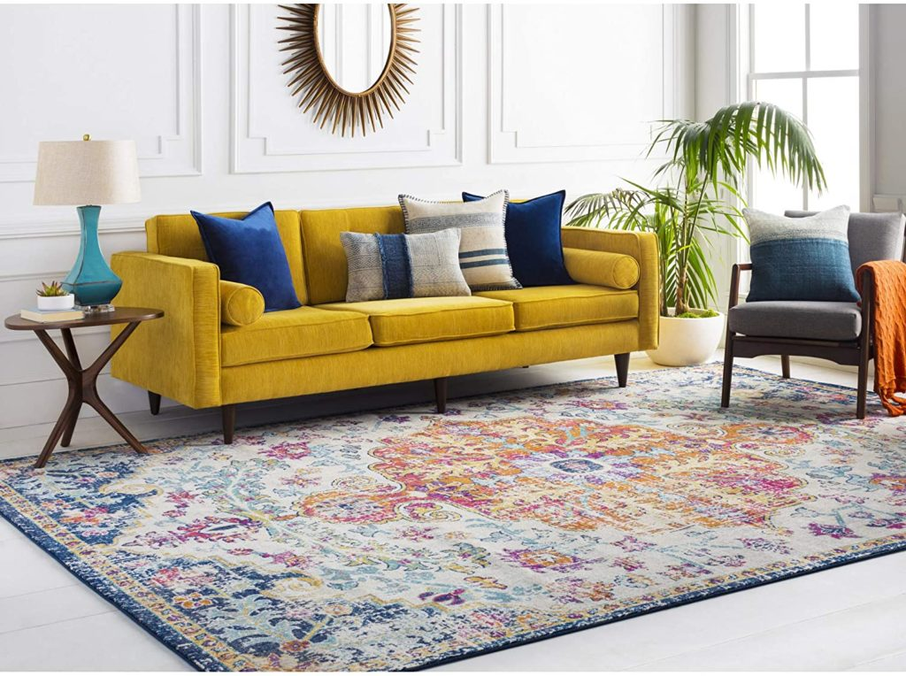 bohemian boho chic decor floor rug